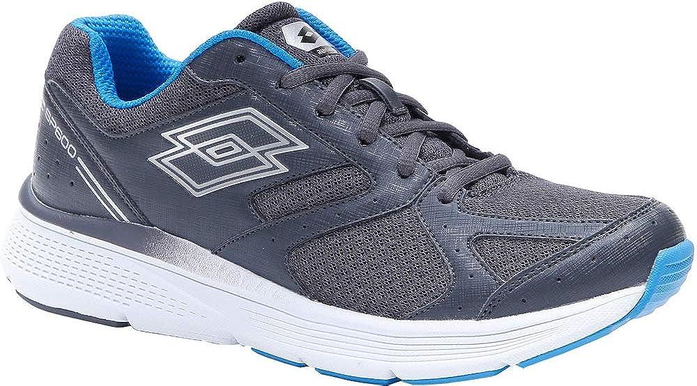 Zapatillas Running Hombre Lotto Speedride 600 VII. 213588 Asphalt-Silver Metal. Talla 45: Amazon.es: Zapatos y complementos