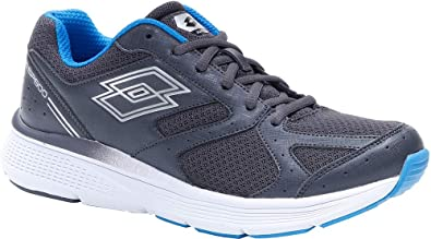 Zapatillas Running Hombre Lotto Speeddride 600 VII. 213588 Asphalt-Silver Metal. Talla 44: Amazon.es: Zapatos y complementos