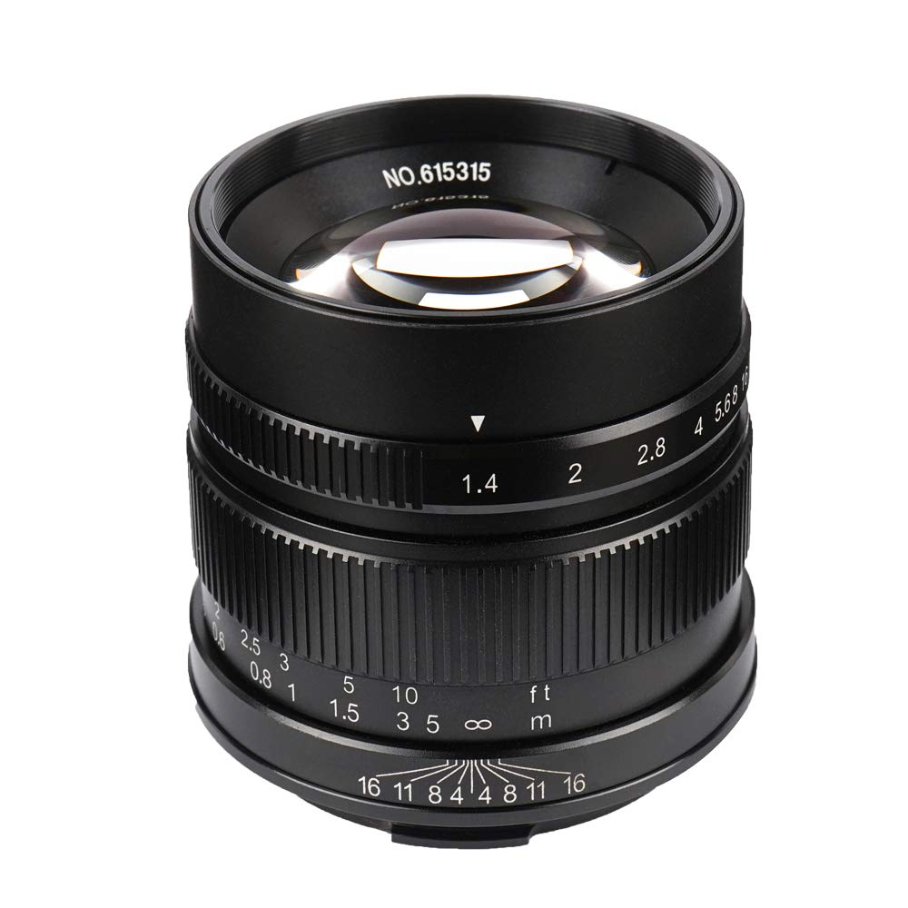 7artisans 55mm//F1.4 APS-C Manual Fixed Lens for Leica T Mount Like Leica T Leica TL Leica TL2 Leica CL