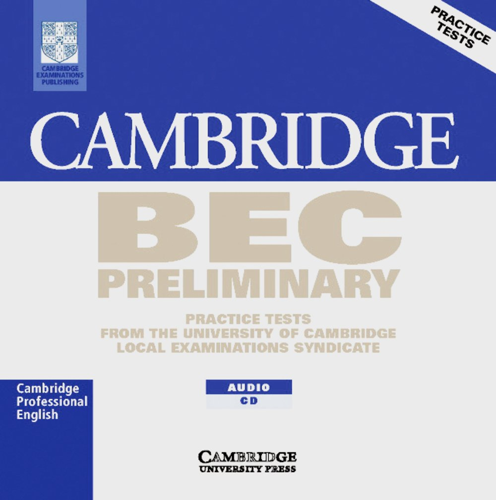 Cambridge BEC Preliminary 1: Audio CD