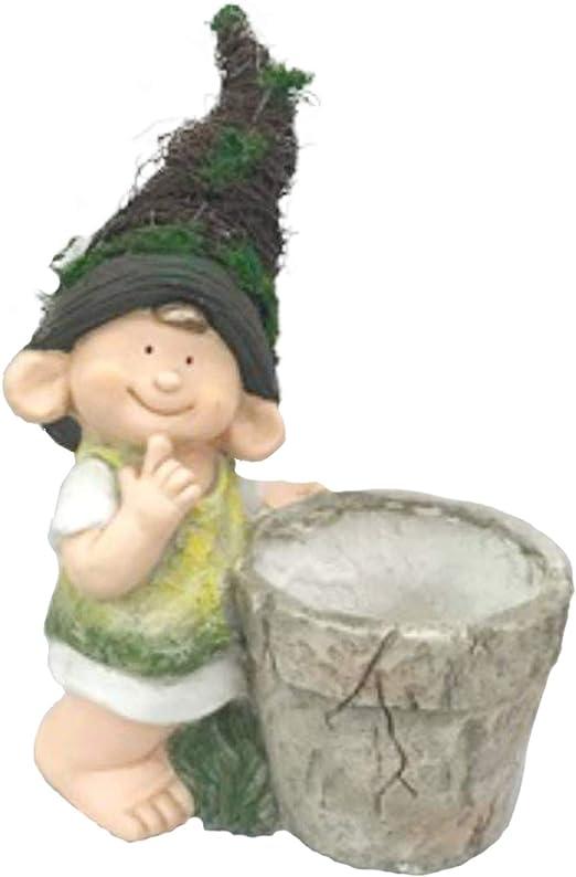 Macetero de jardín Figura niño I Modelo: 0216706 I Maceta para ...