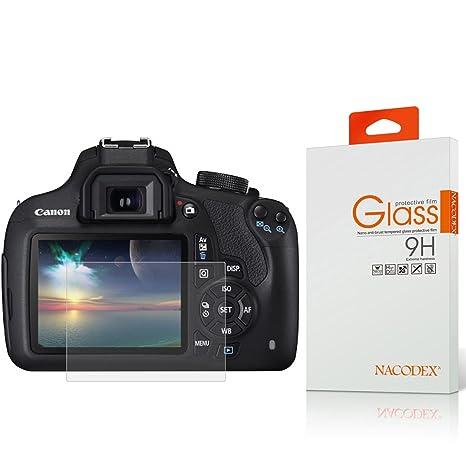 Canon EOS 1200d/1300d templado protector de pantalla de cristal ...