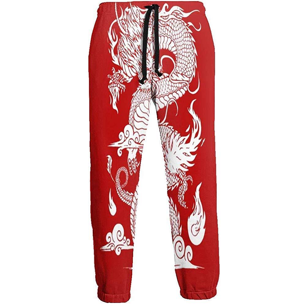 Eternity Bliss Pantalones de chándal Chinos Dragon Athletic Pant ...