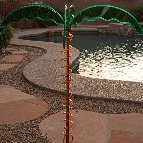 Green LongLife Decorative Palm Tree Rope Lights 4.5/'