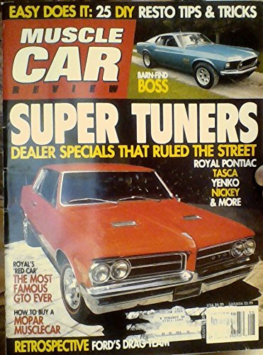 Easy Does It: 25 DIY Resto Tips & Tricks / Super Tuners: Dealer Specials That Ruled the Street: Royal Pontiac, Tasca, Yenko, Nickey & More / Royal's 'Red Car': The Most Famous GTO Ever / How to Buy a Mopar Musclecar (Muscle Car Review, August 2007)