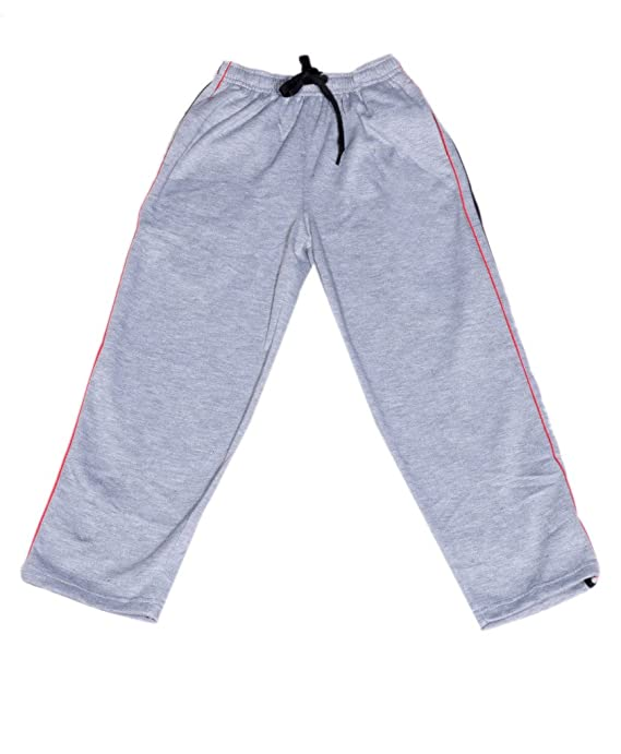 Indistar Boys Premium Cotton Warm Full Length Lower//Track Pant For Winter/_Gray/_4-5 Years