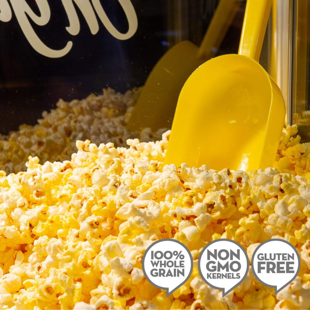 JOLLY TIME All in One Kit for 8 oz. Popcorn Machine | Portion Packet with Kernels, Oil and Salt for Commercial, Movie Theater or Air Popper (Net Wt. 10.5 oz. Each, Pack of 24) by Jolly Time (Image #7)