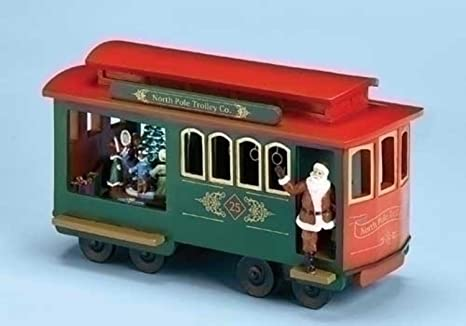 Image result for christmas trolley