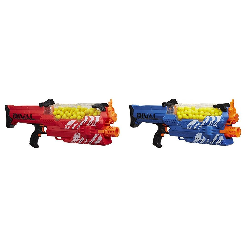 Nerf Rival Nemesis MXVII-10K, Red with Nerf Rival Nemesis MXVII-10K, Blue Bundle