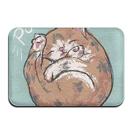 Bai Qian Cute Forest Animals Outdoor Rubber Doormat For Front Door ...