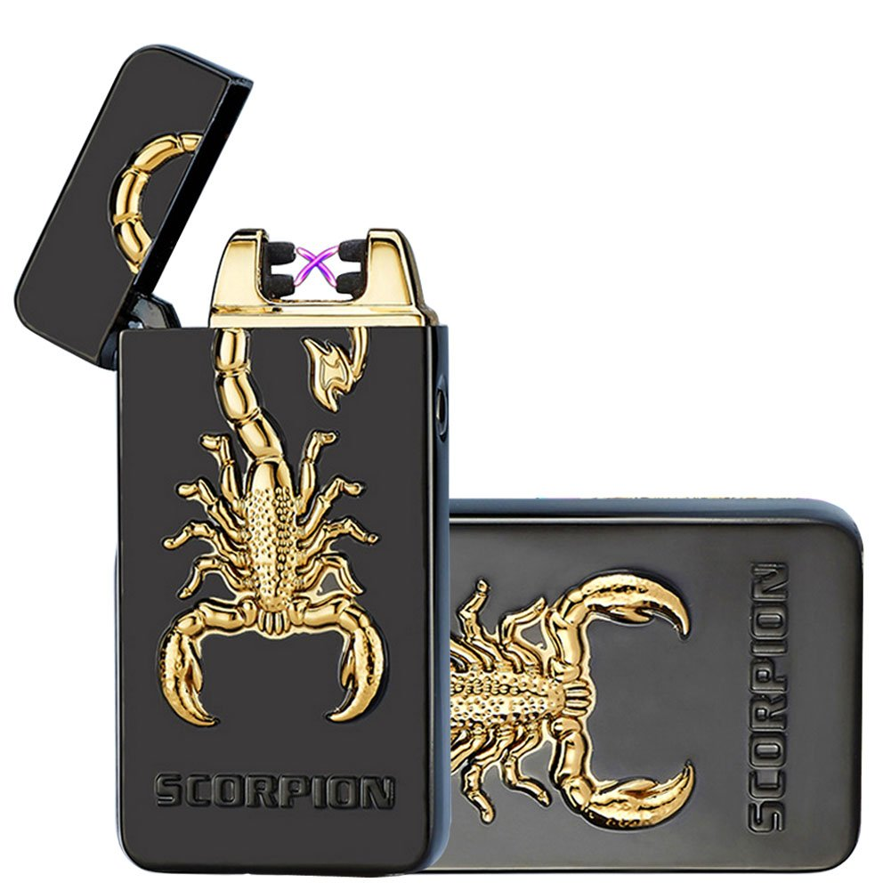 Kivors Usb Rechargeable Flameless Electronic Dual Pulse Arc Cigarette Lighter.. 6