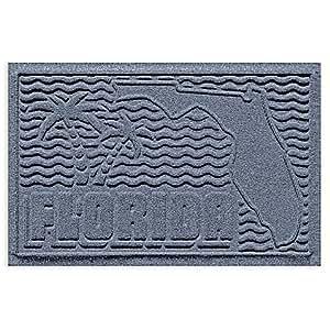 Florida X alfombrilla de puerta de 3pies de 60cm en azul piedra
