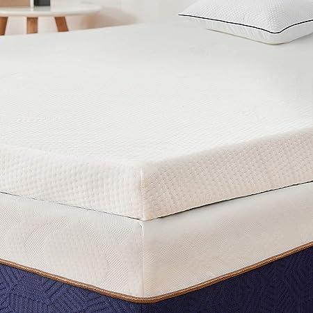 Bedstory Sur Matelas A Memoire De Forme De 5cm Surmatelas 140x190 Ergonomique Avec Housse Amovible Et Lavable Hypoallergenique Soutien Optimal