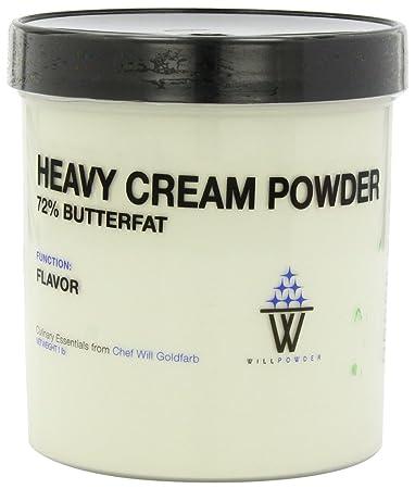 WillPowder Heavy Cream Powder, 16-Ounce Jar