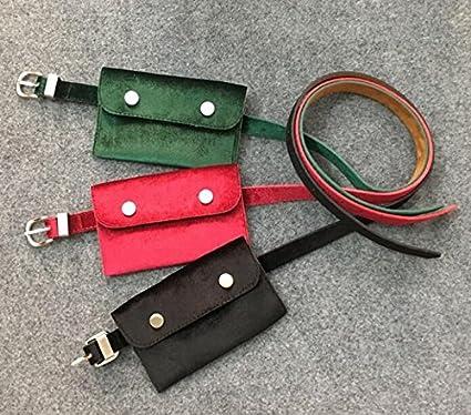 Ladies purse purveyette with purse and a dual-use belt key bag fancy velvet