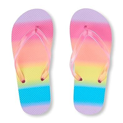 The Childrens Place Kids Bg Laser Cut Jas Flat Sandal