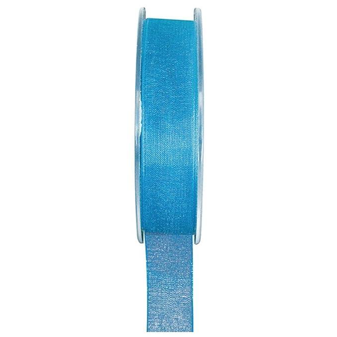 Organzaband 25 mm x20m grau Schleifenband Hochzeit Chiffonband Geschenkband