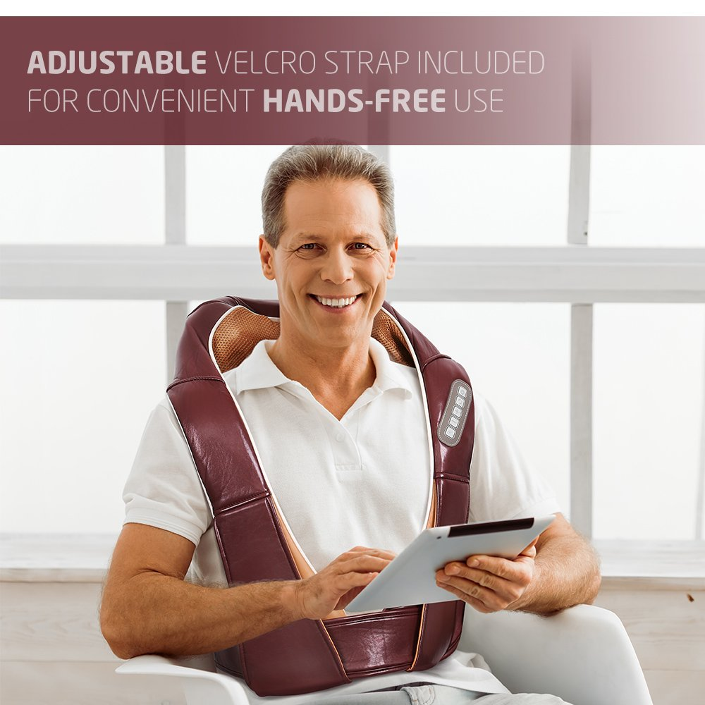 AVANTEK Nackenmassagegerät Gurt