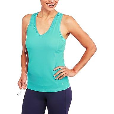 19954b8147851 Women s Dri-More Built in Shelf Bra Racerback Tank Activewear Gym Sports -  -  Amazon.co.uk  Clothing