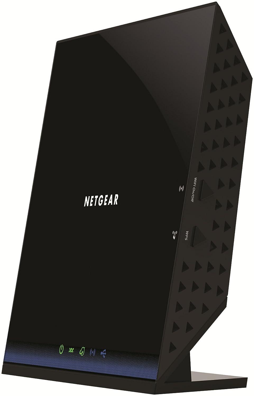 Netgear Ac1200 Wifi Dsl Non Cable Modem Router 80211 Frontier Wiring Diagram 80211ac Dual Band Gigabit D6200 Computers Accessories