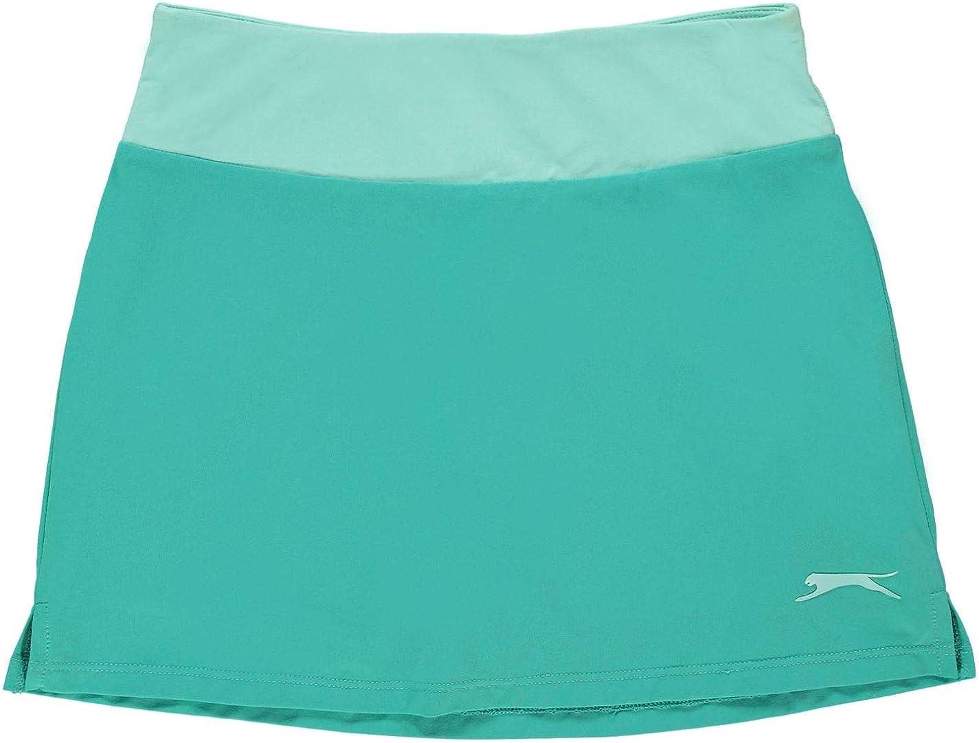 leicht Slazenger Tennis-Rock f/ür M/ädchen Stretch-Material