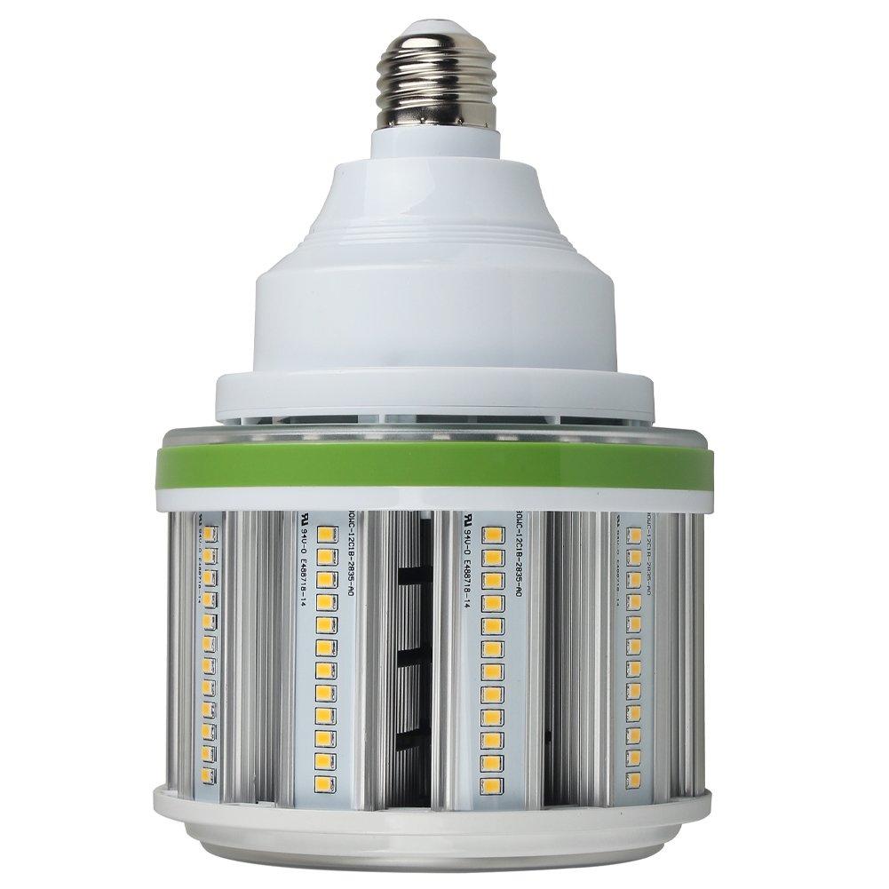 Dephen 54W Led Corn Bulb, 5000K LED Corn Light, 7290 Lumens(400W Equivalent), Large Mogul E39 Base LED Replacement for Metal Halide, HID, HPS Bulbs used in Garage, Warehouse, High Bay, Parking Lot