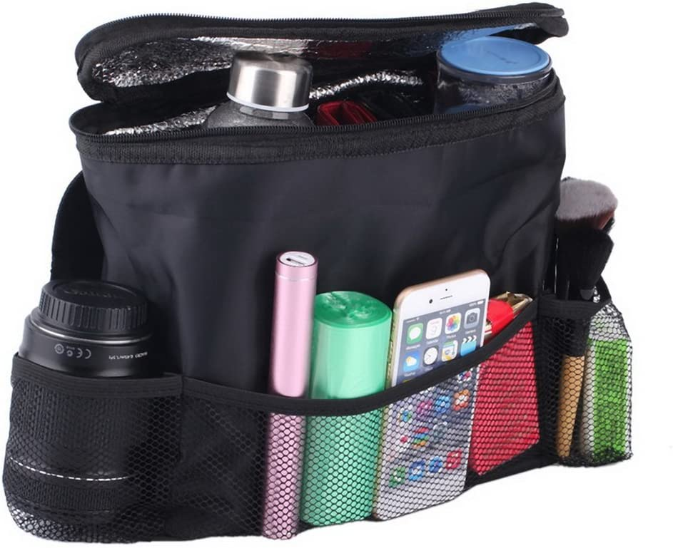 Deniseonuk Universal Car Auto Seat Back Auto Car Seat Organizer Multi-Pocket Storage Bag Organizer Holder Travel Hanger