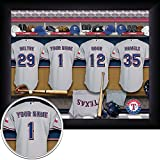 Texas Rangers Personalized Framed Print