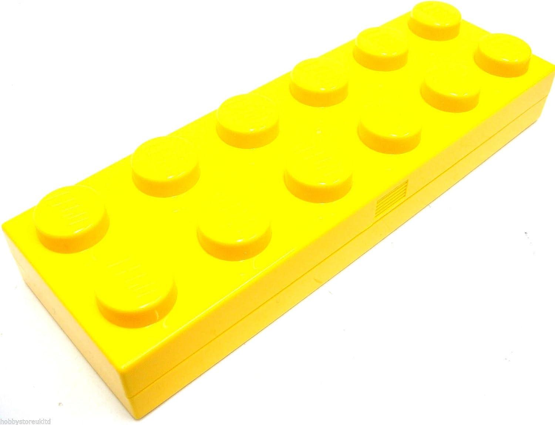 Original Lego Pencil Case Estuche de ladrillos LEGO Lego Pencilcase escuela caso nuevo: Amazon.es: Oficina y papelería