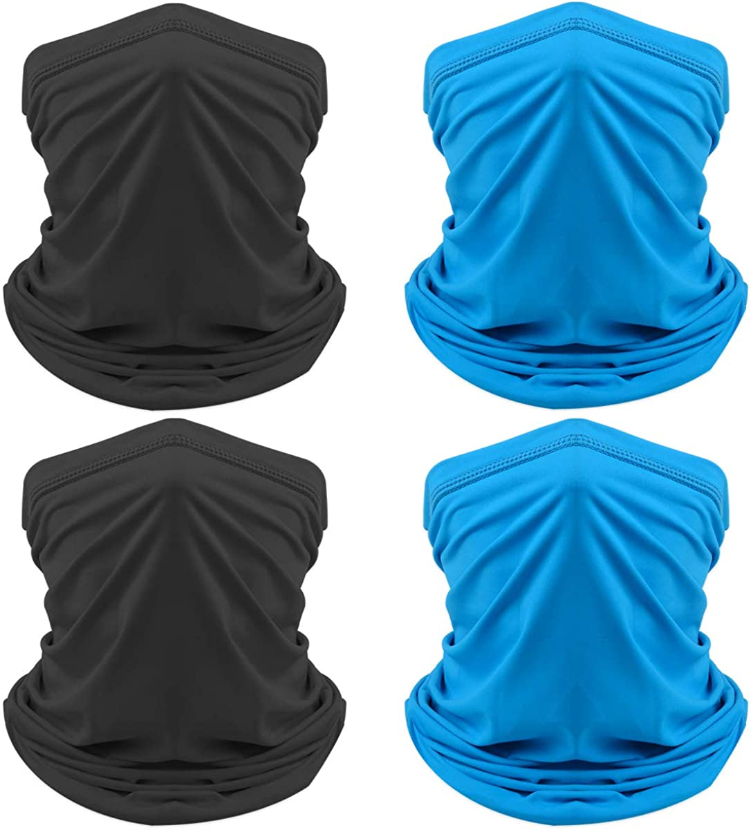Bandanas Rave 3d Print Face Mask Cover Outdoors Protect from Dust Sun Wind Balaclava Headband for Unisex