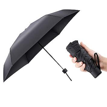 Parapluie Léger Robuste Pliants Cadre Petit Pour Pliant Et parapluie Main Renforcé Compact Anti Sac À Solaire Uv Pliable Mini Parapluies Avec mN0w8vnO