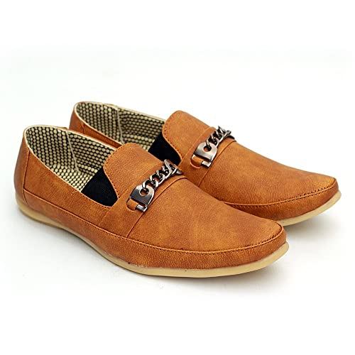 WELSON Shoes for Men's (7) Brown: Buy