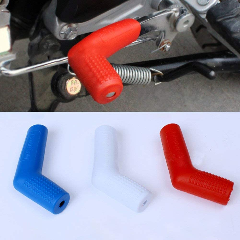 EMVANV Couvrir Protection pour Levier de Vitesses Moto en Plastique R/ésistant de D/écoration pour Moto