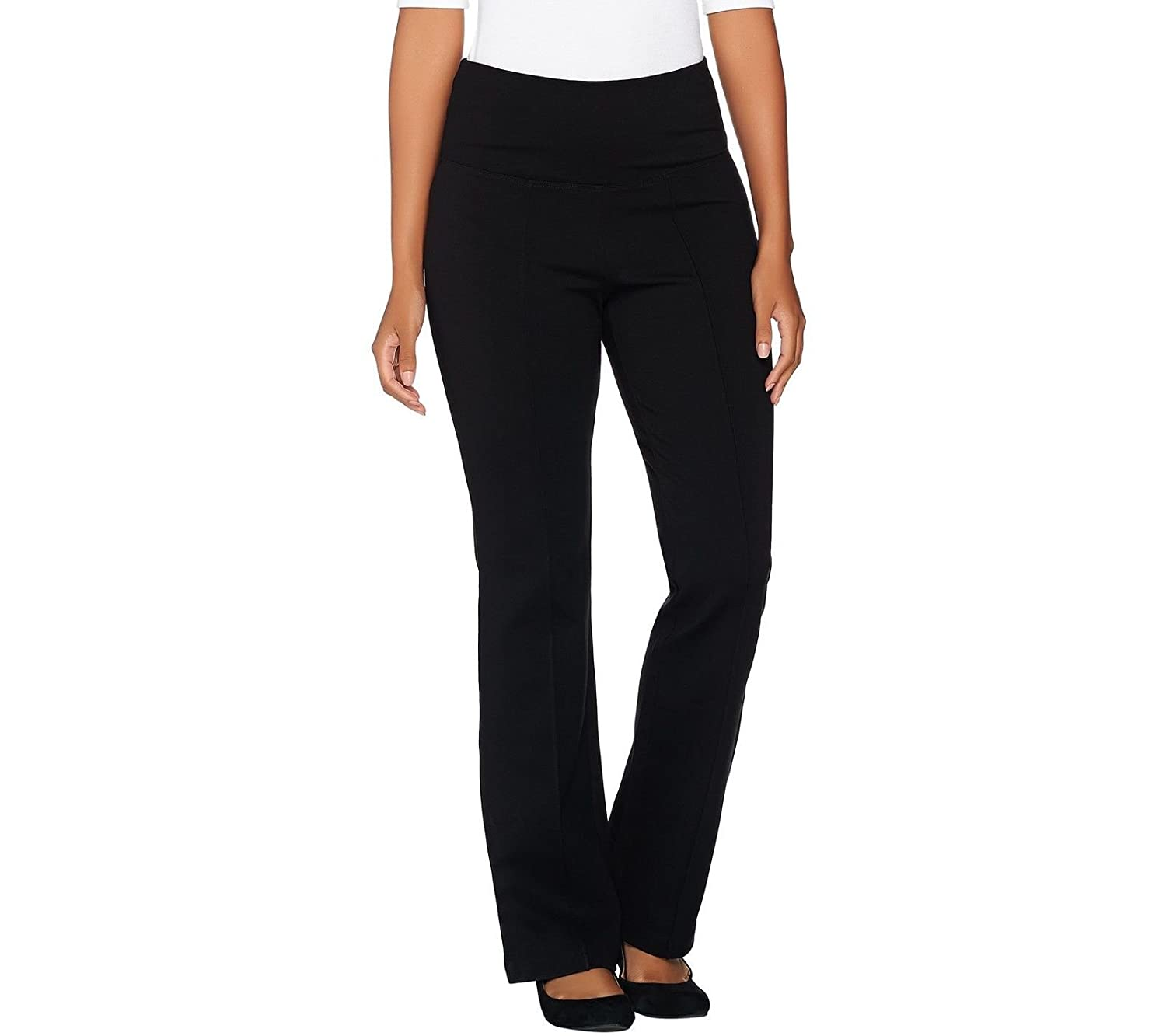 Belle Kim Gravel Tummy Smoothing Ponte Pants A283053