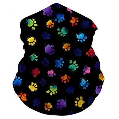 Unisex Seamless Bandana Neck Gaiter Tube Mask Outdoor Headband Scarf Sun Protection Dust Windproof Face Mouth Cover: Home Improvement