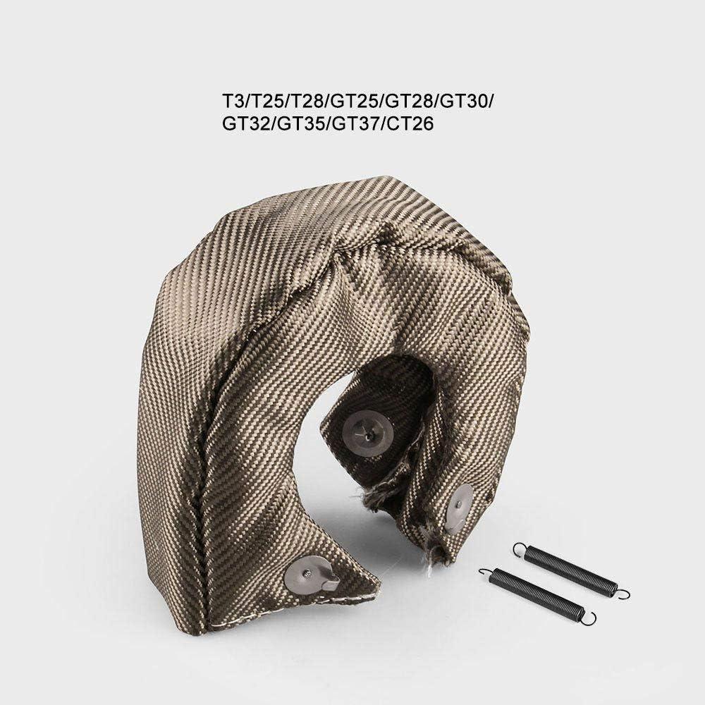 BEESCLOVER T3 Titan-Lavafaser-Decke mit W/ärmeschutz und Turbolader