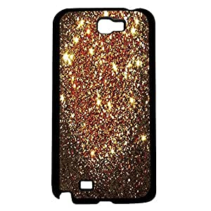 Bronze Glitter Hard Snap on Phone Case (Note 2 II)