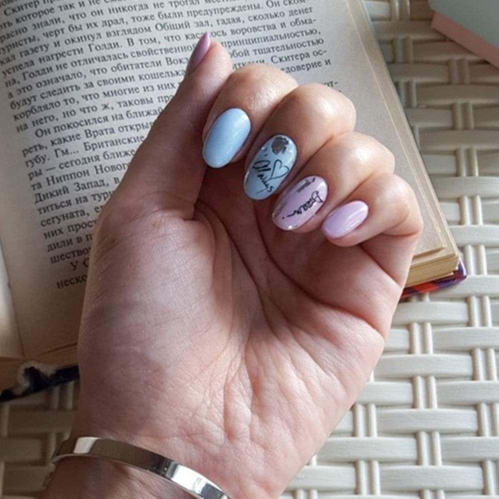 Amazon.com: Sello de uñas, 1 unidad, diseño de ondas ...