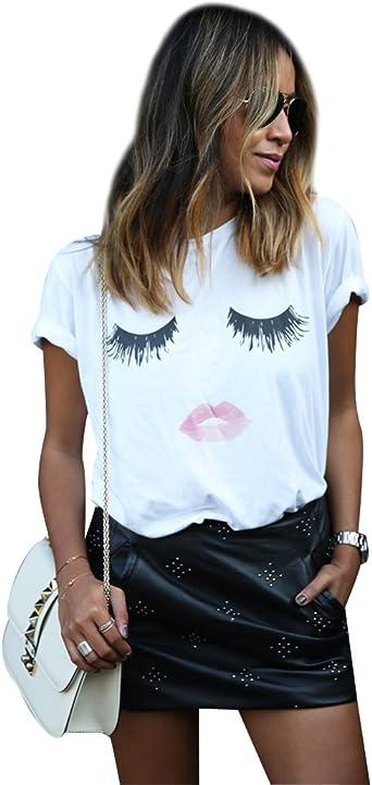 t-shirt femme fantaisie