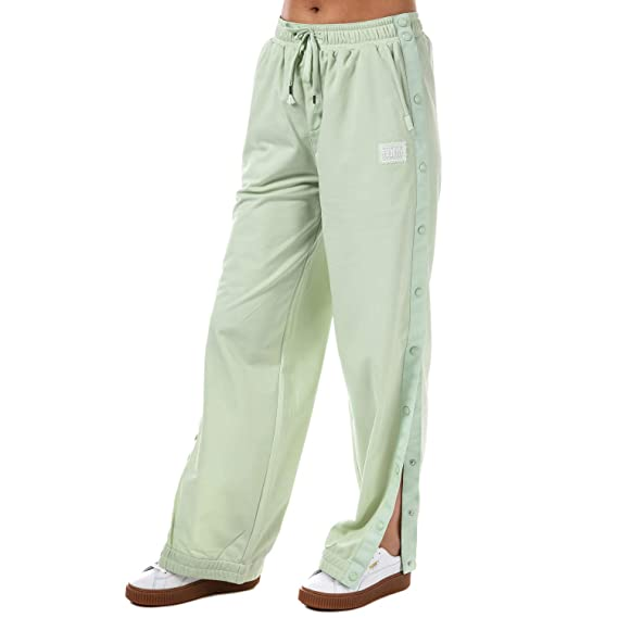 a3c03772130 Puma Pantalon de Jogging Fenty Tearaway Vert Femme  Amazon.fr ...