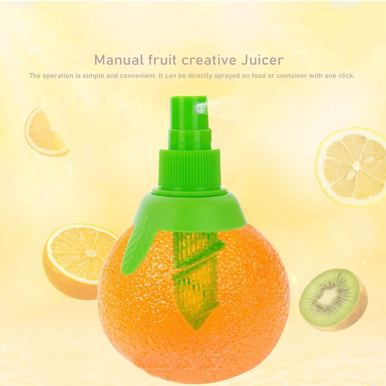 Lemon Sprayer Gadget With Manual Lemon Juicer Set, Fresh Juice Supply Tool, Convenient Nozzle, Lemon Juicer, Creative Kitchen Gadget That Can Save Time And Effort For Kitchen Salads Seafood