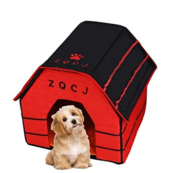 ZQCJ: Casa Desmontable para Mascotas, para Gatos y Perros, Apto para Transporte en casa y Viajes: Amazon.es: Productos para mascotas