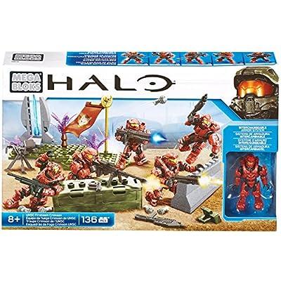 Mega Bloks Halo UNSC Fireteam Crimson Battle Pack: Toys & Games
