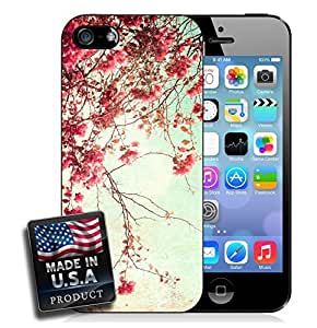 Spring Flowering Trees Pink Blooming Flowers iPhone 5/5s Hard Case by lolosakes