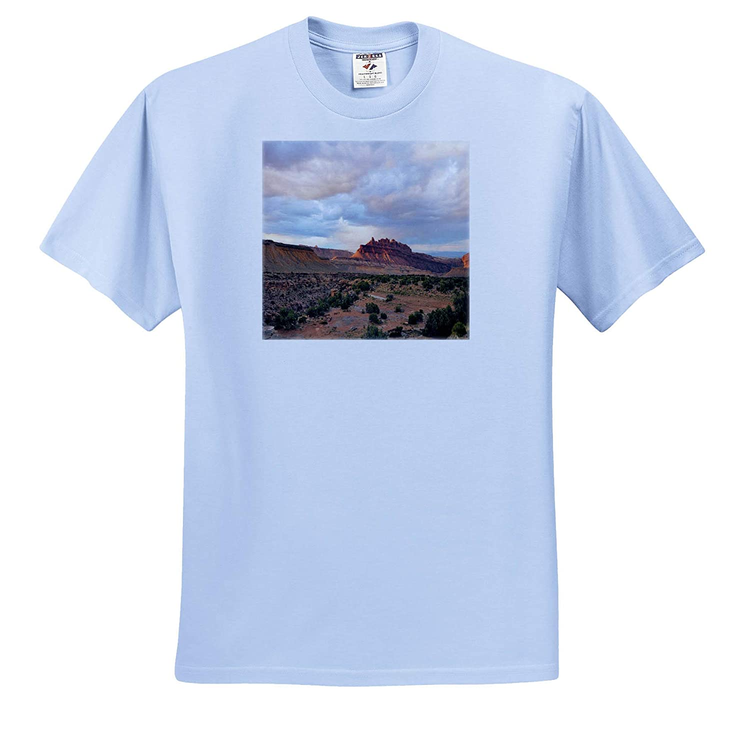 Black Dragon Canyon Adult T-Shirt XL ts/_314238 Scenery 3dRose Dreamscapes by Leslie