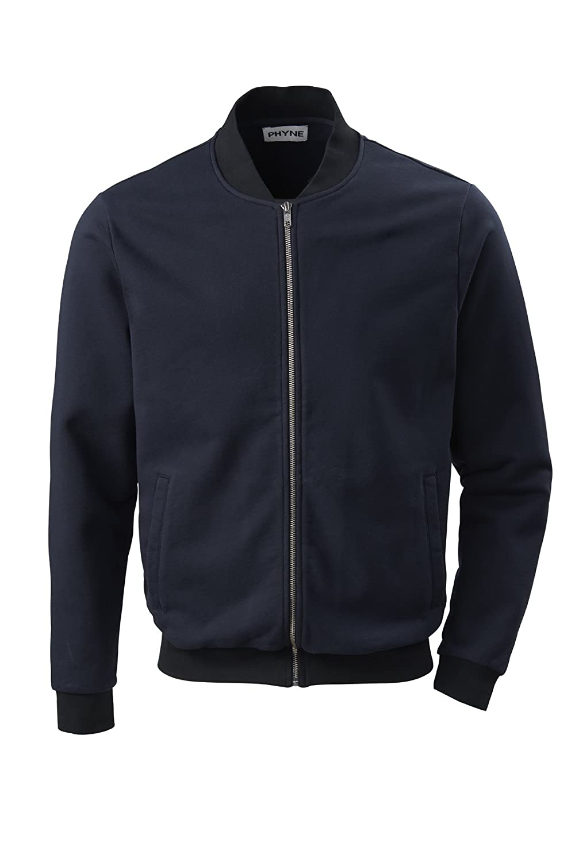 Navy Large Phyne Men's Track Jacket bluee Navy S
