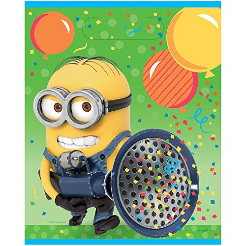 Despicable Me Minions Goodie Bags, 8ct -