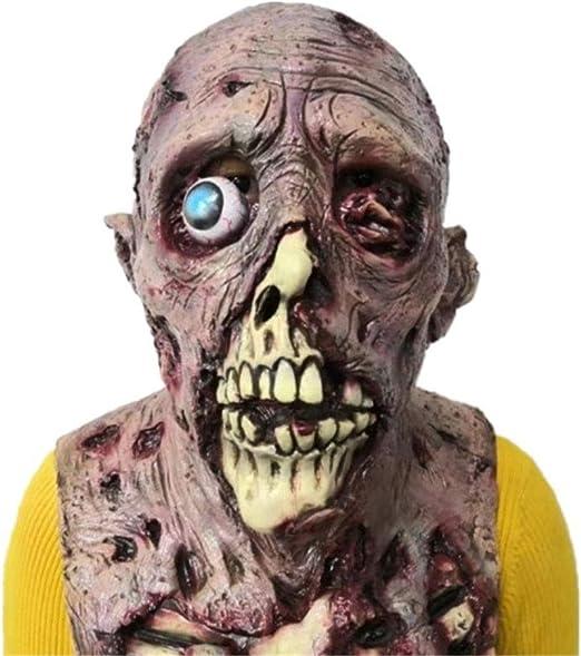 Miaoao-mask Máscara de Halloween, máscara del Horror Resident Evil ...