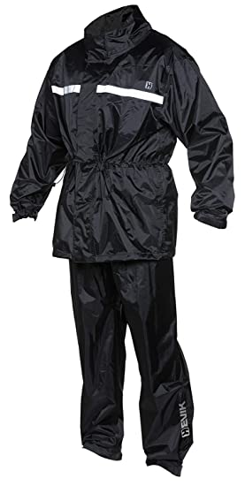 HEVIK Traje Impermeable, Multicolor, L