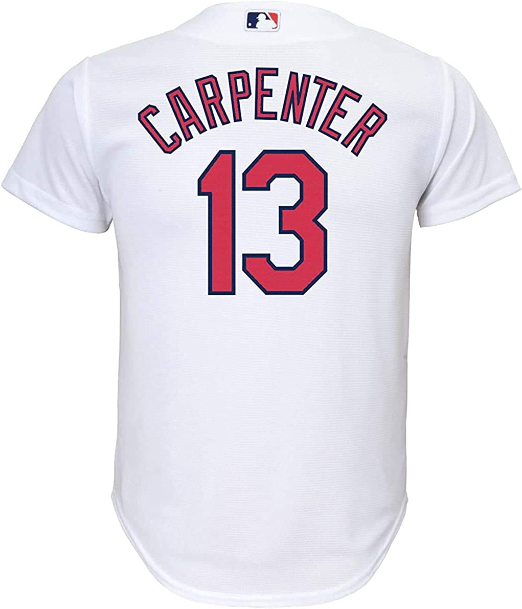 Matt Carpenter St Louis Cardinals Youth 8-20 White Cool Base Home Replica Jersey